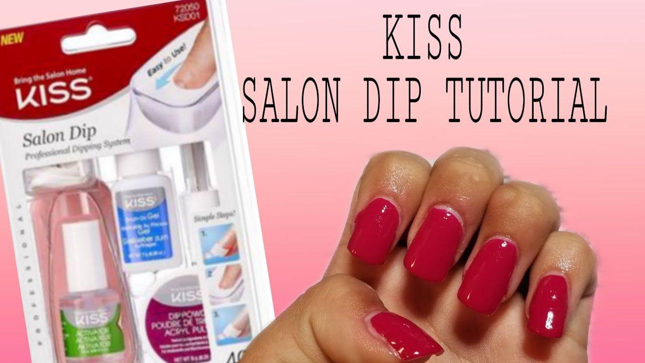 Kiss Acrylic Nail Dip System Tutorial Dip Powder Nails Acrylic Nails Dipped Nails