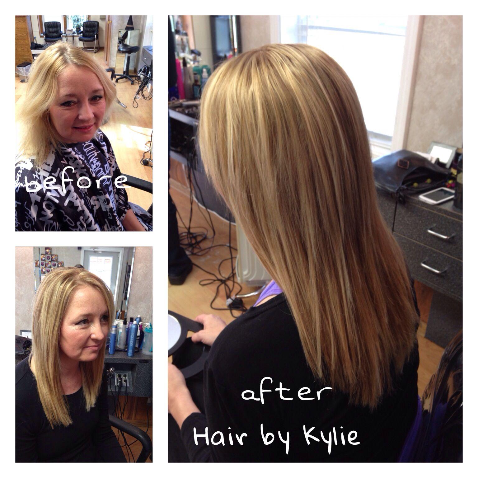 Bonded Hair Extensions Stylist Kylie Talacko Kulp The Hair Court