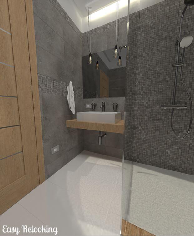 Bagno lungo e stretto doccia filo pavimento bathrooms pinterest - Bagno stretto e lungo ...
