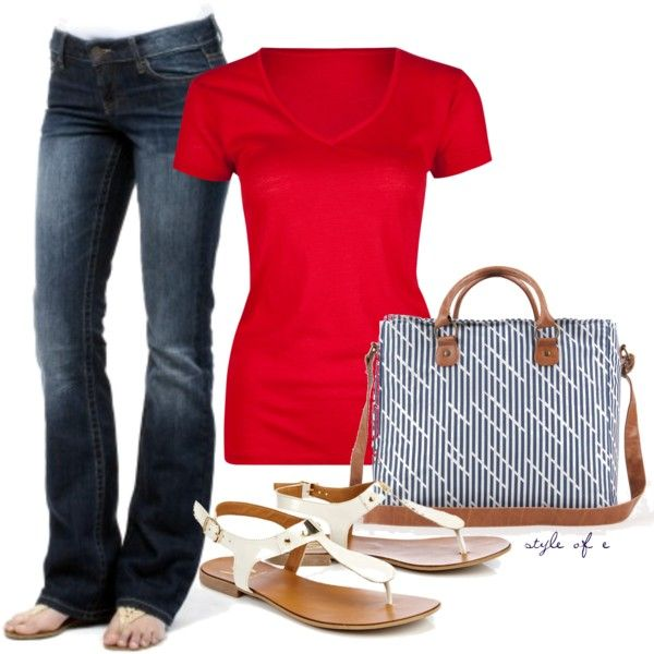 """Weekend Casual"" by styleofe on Polyvore"
