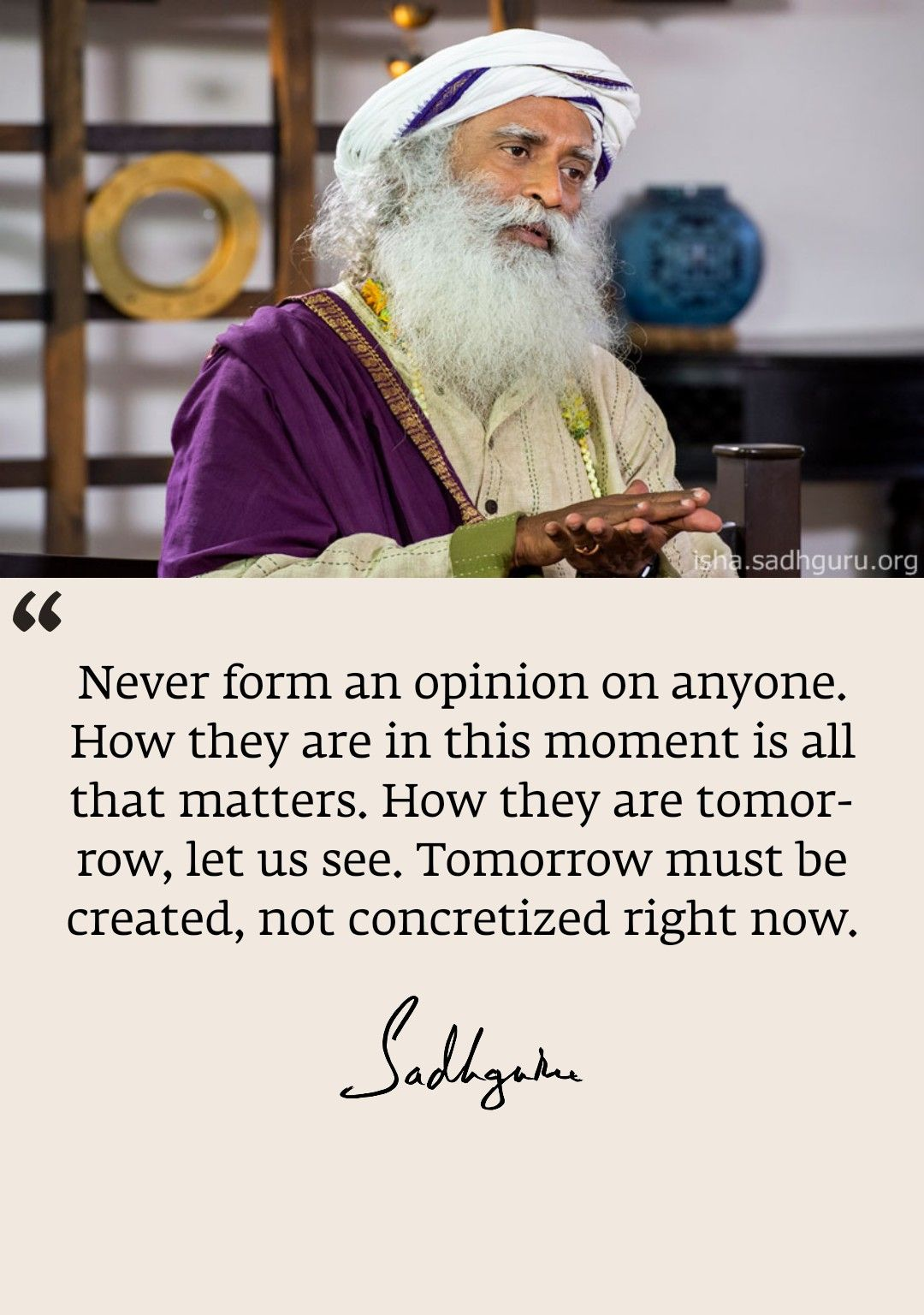 Inthemoment Guru Quotes Daily Inspiration Quotes Soft Heart Quotes