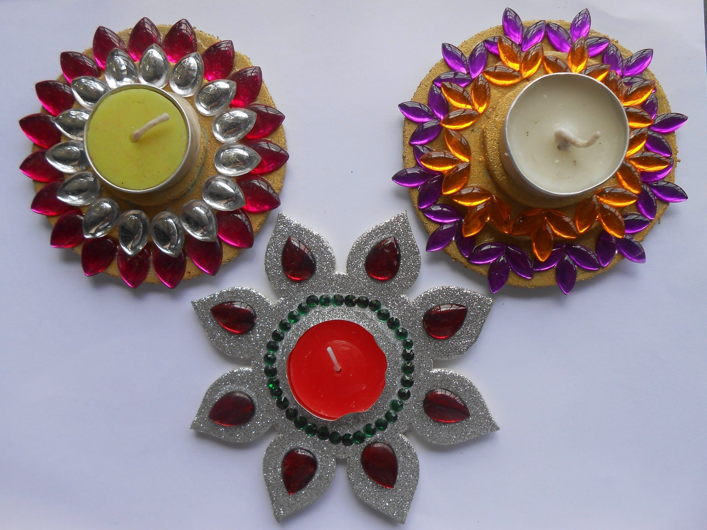Decorate Silver Floating Candle Diya At Home Floating Candles Arts And Crafts Crafts