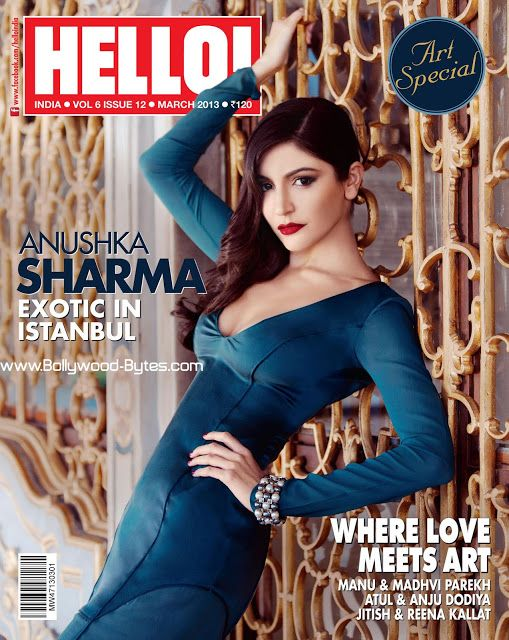 Super Sexy #AnushkaSharma Cover Girl Hello March 2013