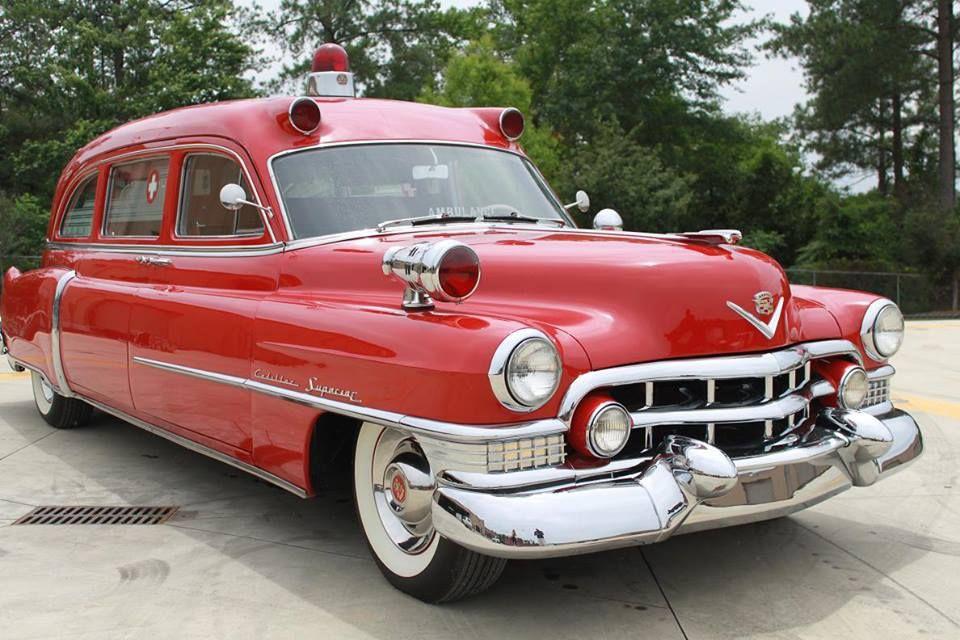 CADILLAC SUPERIOR AMBULANCE | AMBULANCES | Pinterest | Ambulance ...
