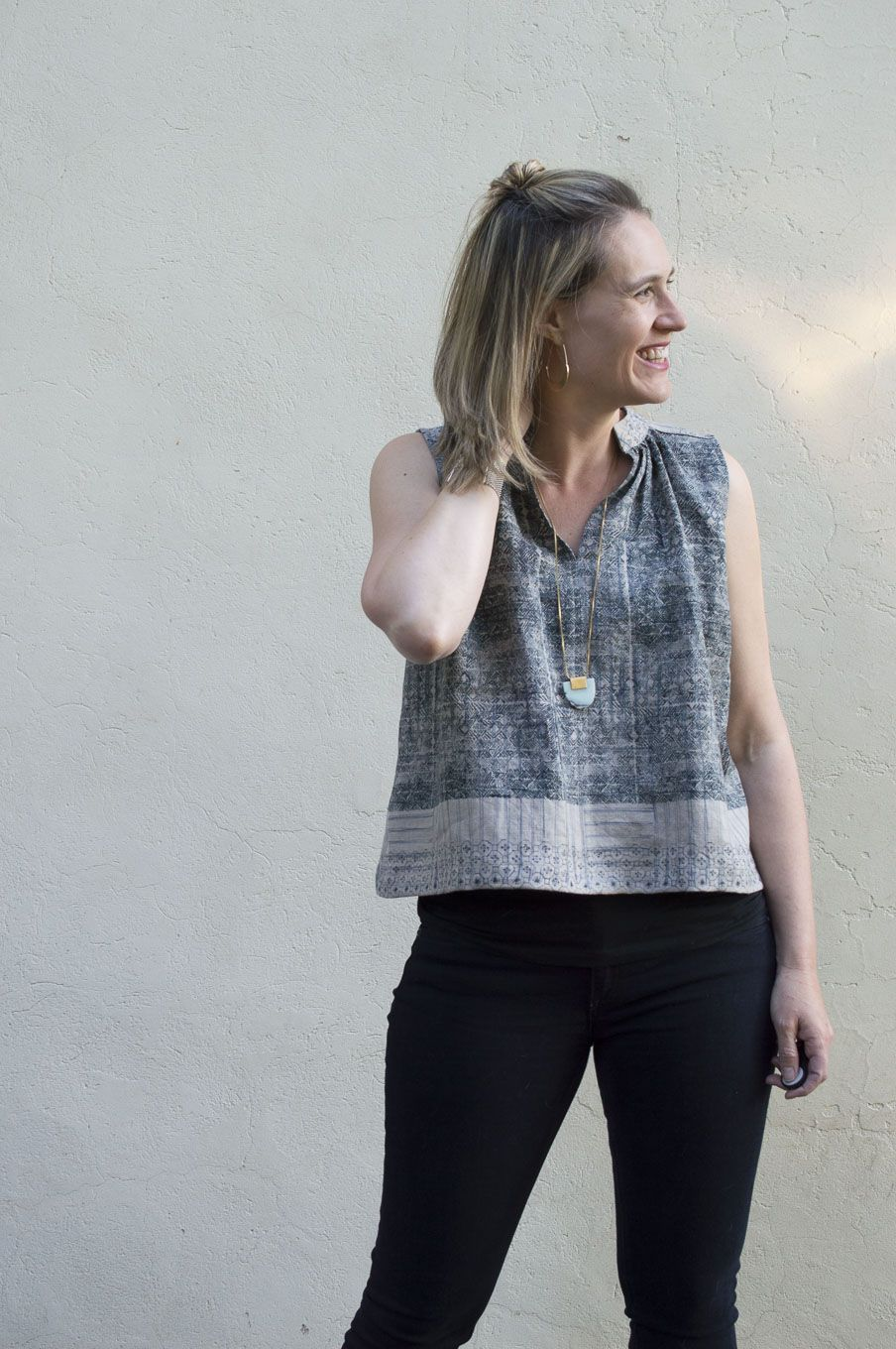 Matcha Tops :: In Linen and Rayon sewn by Melissa Quaal of A HAPPY ...