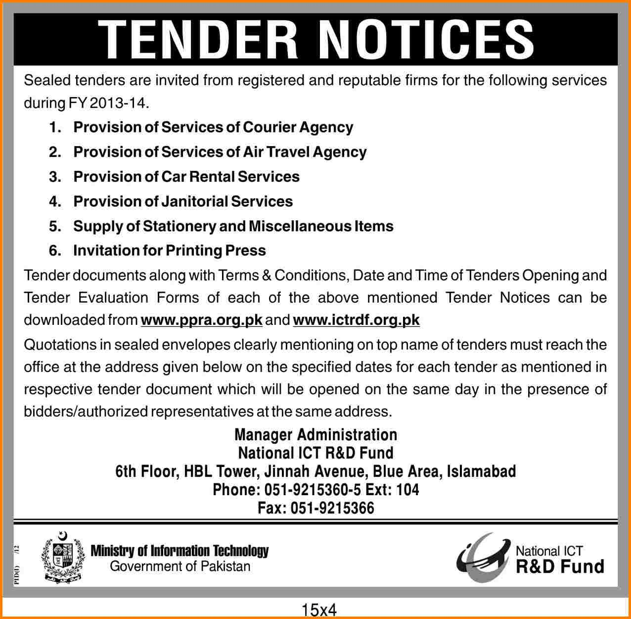 tender document Quality of tender documents: case studies from the uk samuel laryea school of construction management and engineering, university of reading, uk, rg6 6aw.