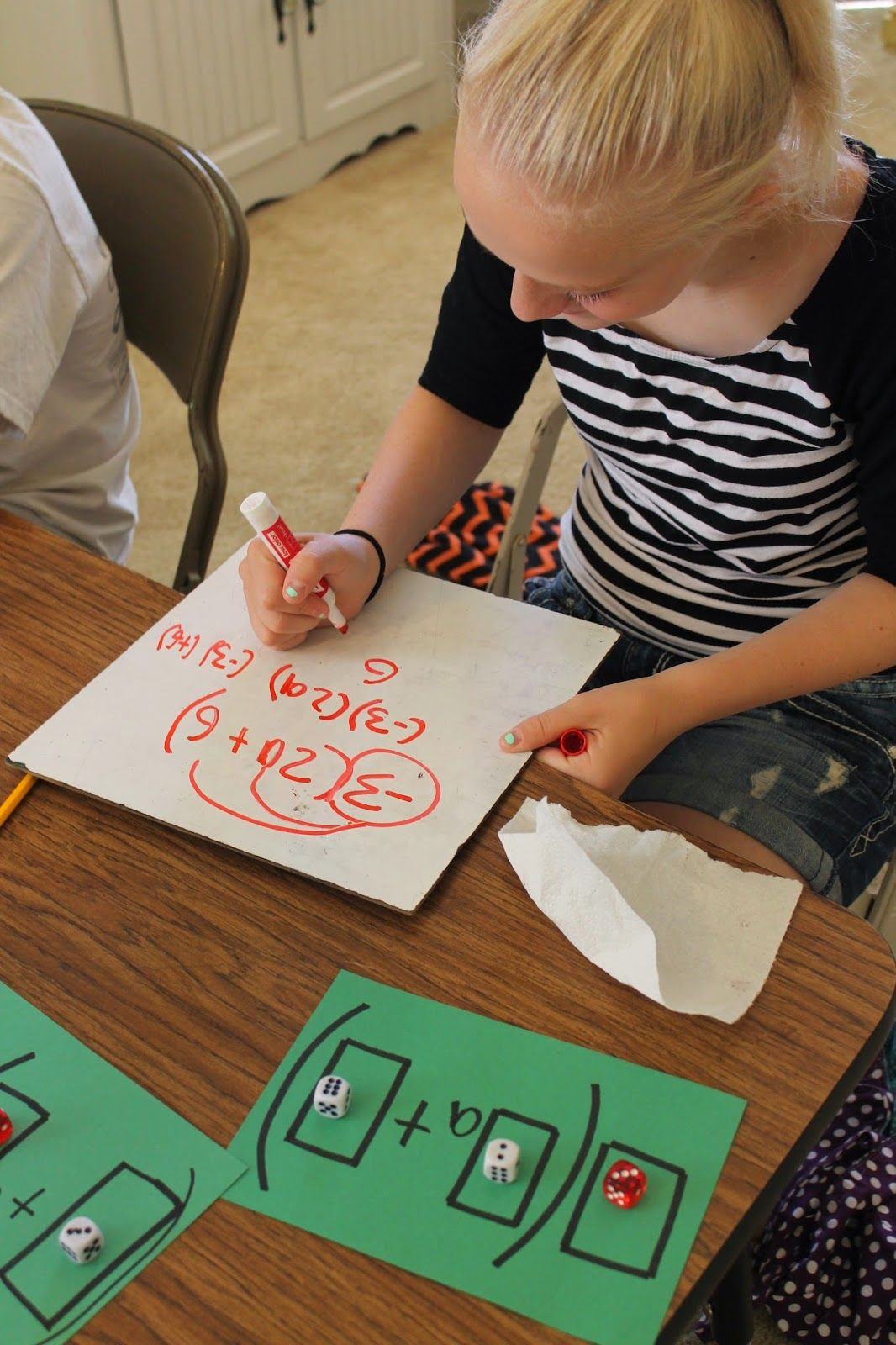 Apples 4 Bookworms Distributive Property Hands On