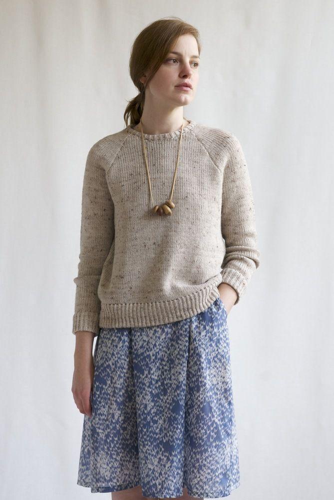 Neat Sweater - Primoeza Suéter sencillo y cómodo, pero sin patron ...