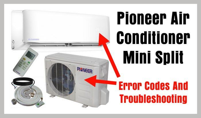 Pioneer Air Conditioner Ductless Wall Mount Mini Split System Heat