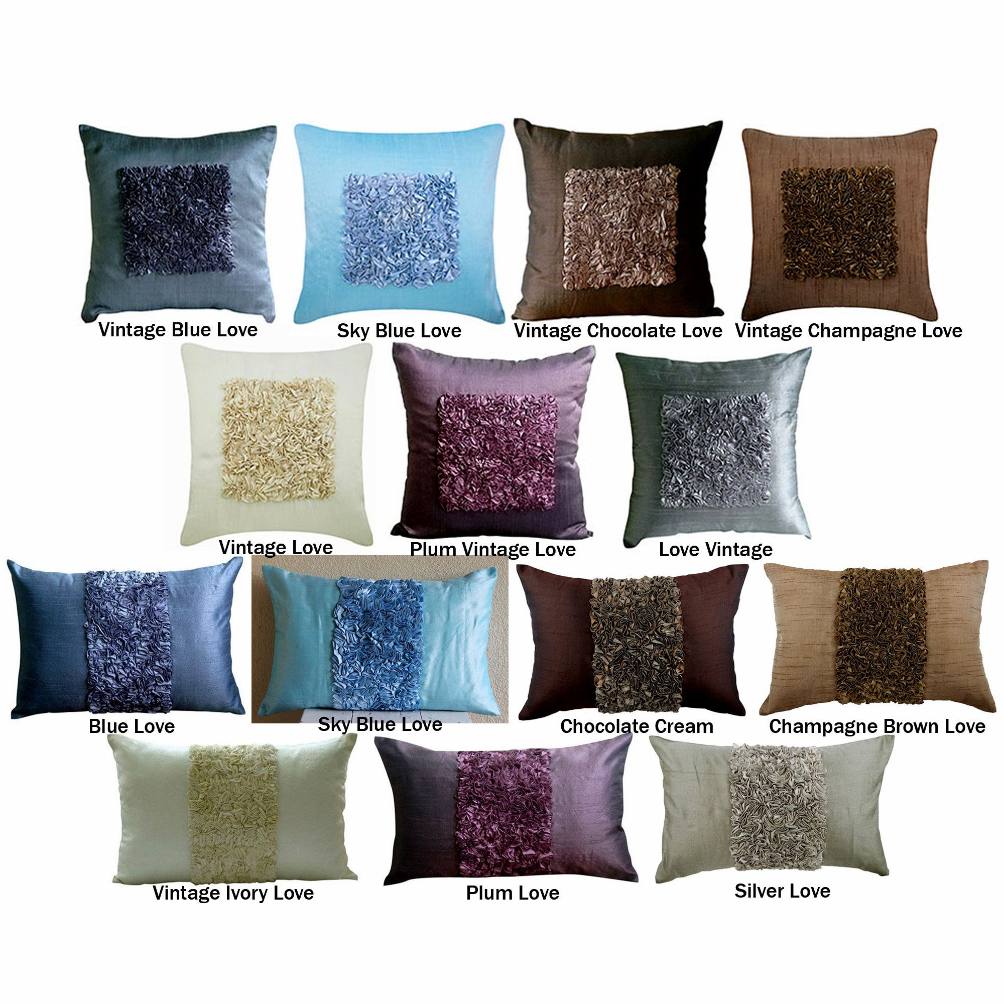 Pin On Silk Throw Pillows Cushions