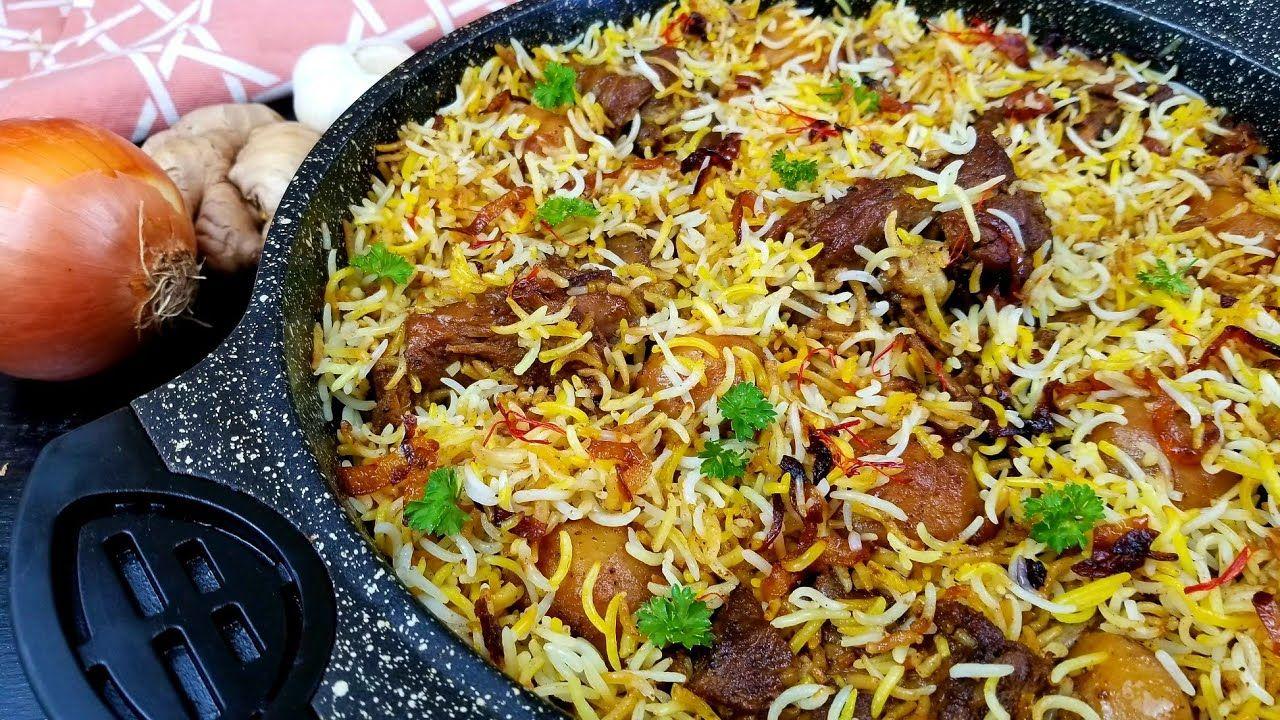طبخ كبسة الزربيان العدني باللحم على اصووووله خطوة بخطوة Yemeni Style Mutton Biryani Rice Zurbian Youtube In 2021 Mediterranean Recipes Spicy Dishes Food