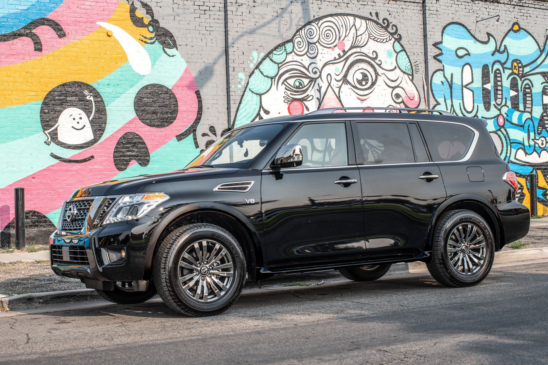 Best 3rd Row Suv Used >> 2019 Nissan Armada Becomes Even More Compelling Thanks To Newly