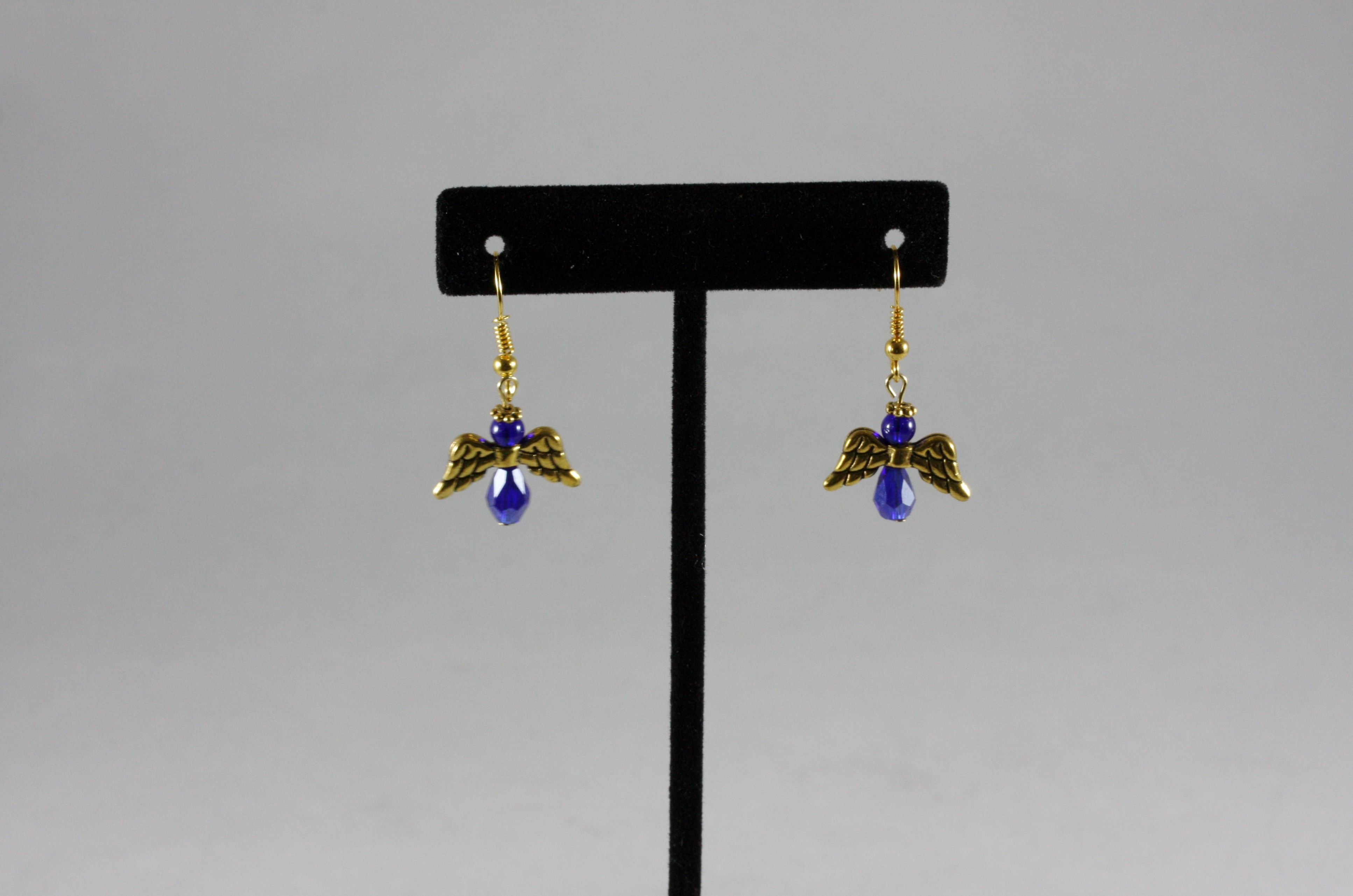 Angel earrings. Mountain Laurel Boutique