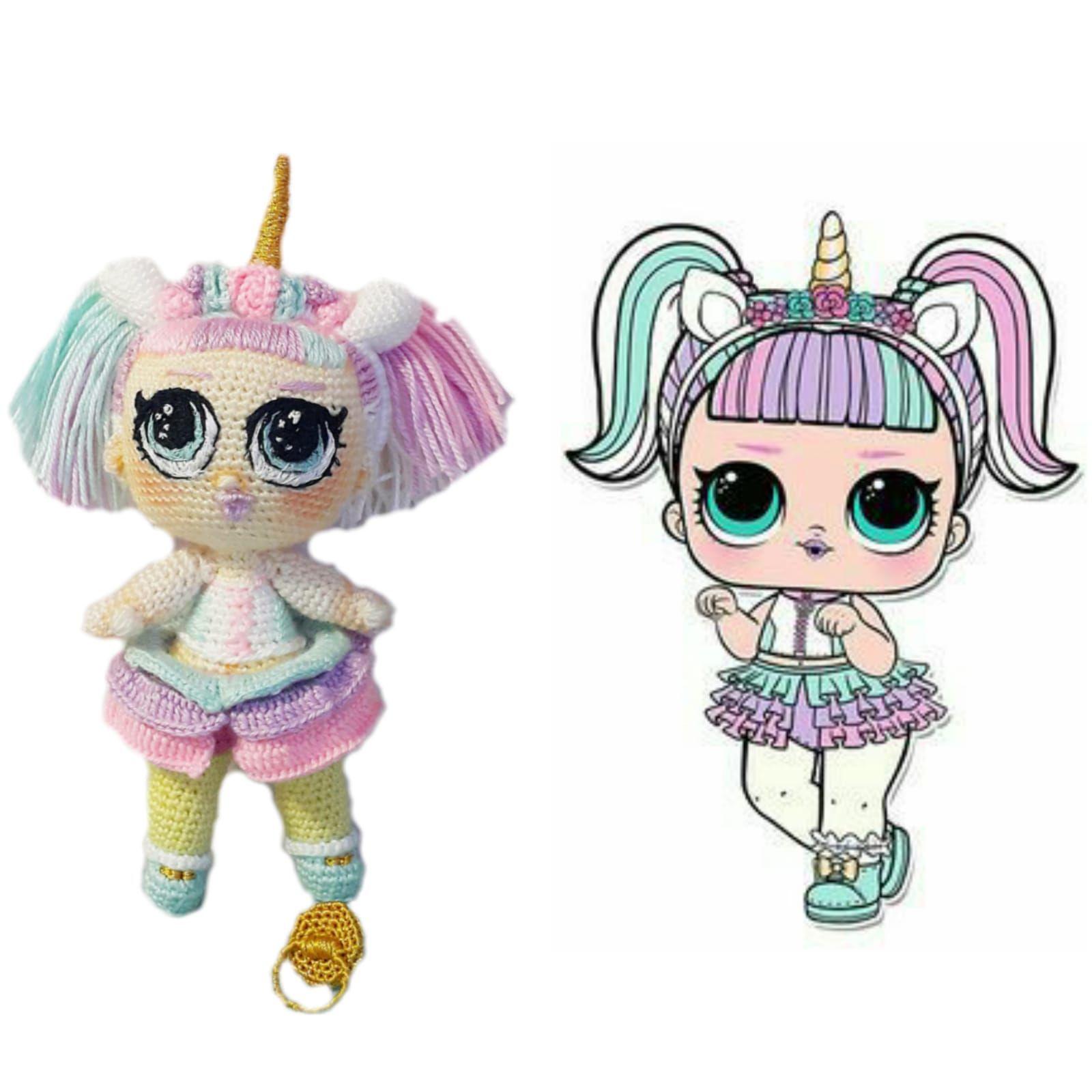 Lol Bebek Unicorn Amigurumi Organik Oyuncak N11 Com Lol Oyuncak 11 Nisan