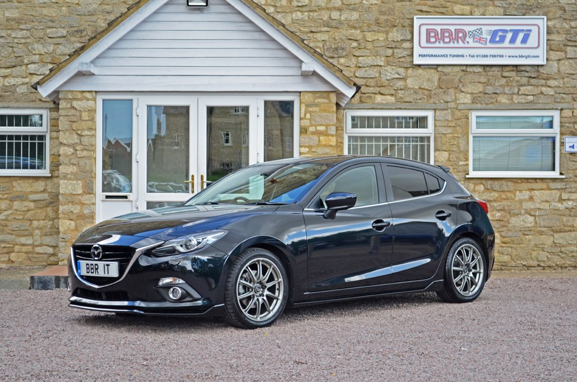 Bbr Tuned Mazda 3 Previews Potential Of New Mx 5