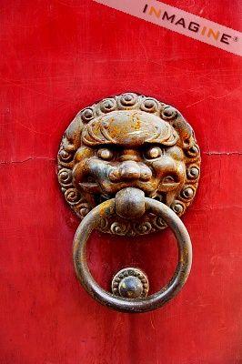 Doorknob...Temple in Shanghai China