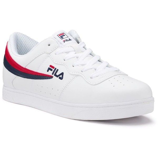 1cb4a73940bf Fila® Court 13 Low Men s Sneakers ( 40) ❤ liked on Polyvore featuring men s  fashion