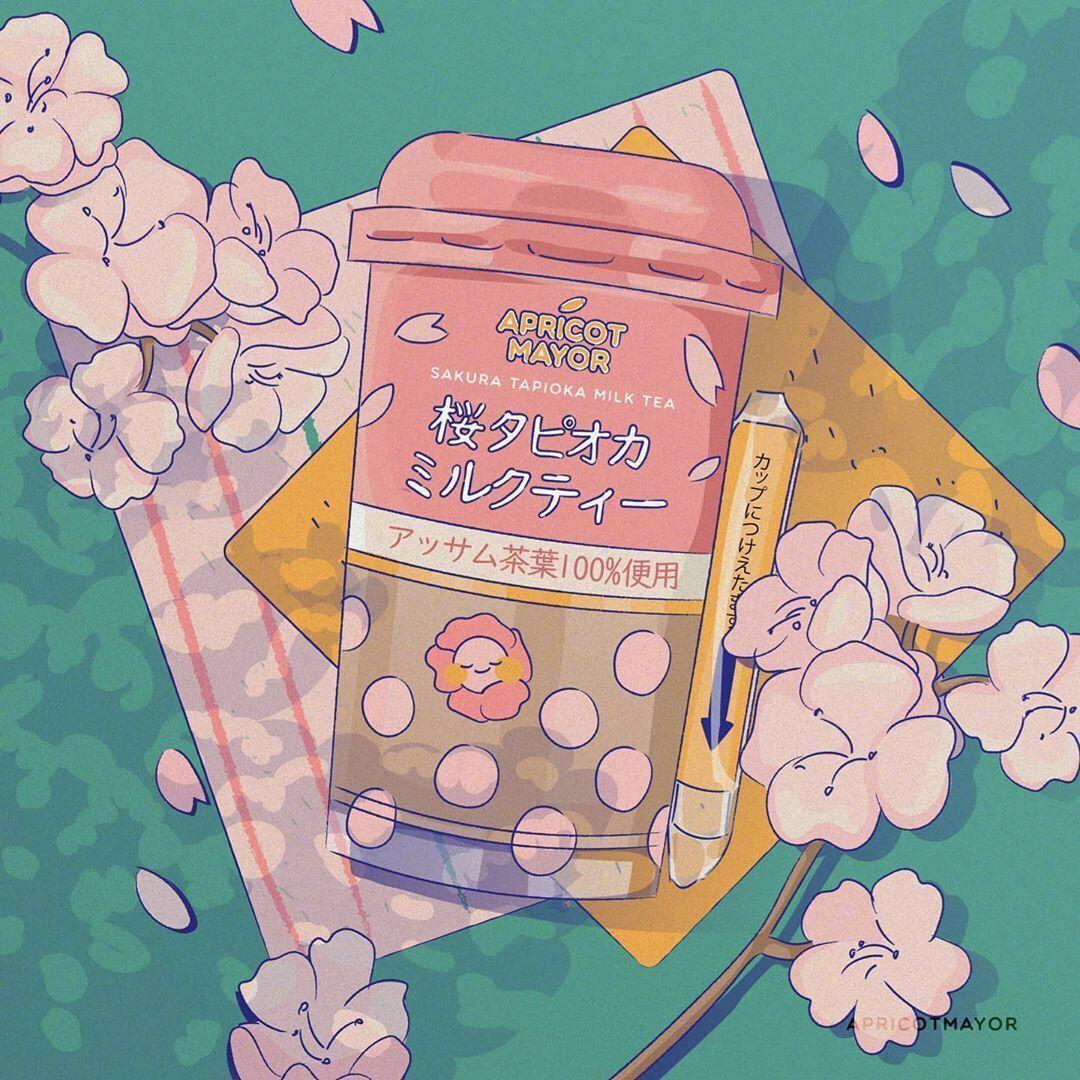 Pin By Letungchi On Aesthetic Background Wallpaper Cute Drawings Cute Cartoon Wallpapers Kawaii Wallpaper