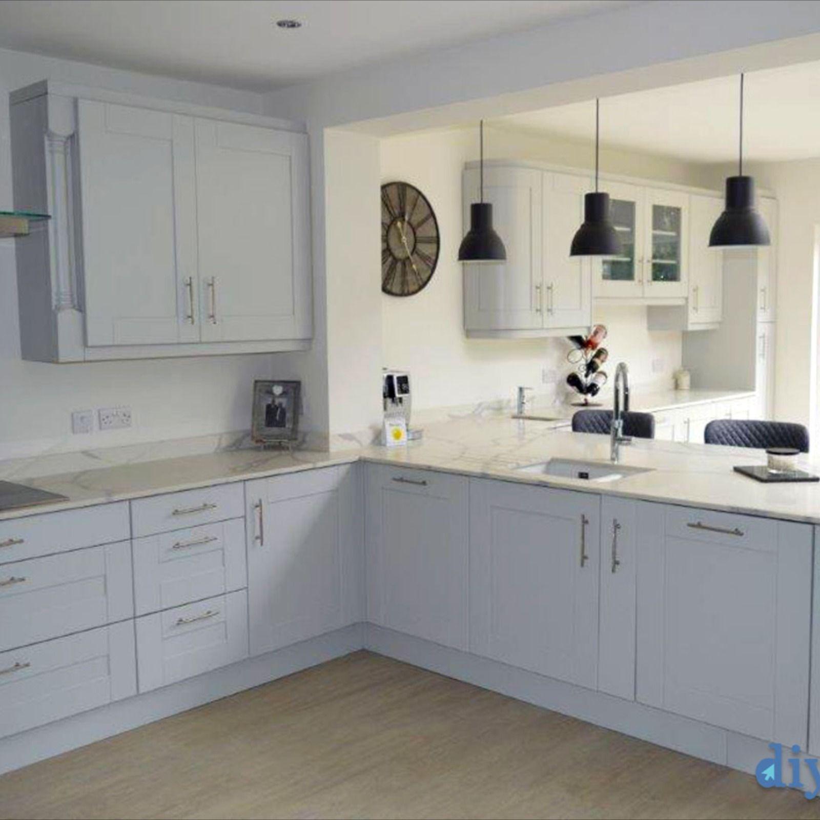 Best An Innova Linwood Dove Grey Shaker Kitchen In 2020 Cheap 640 x 480