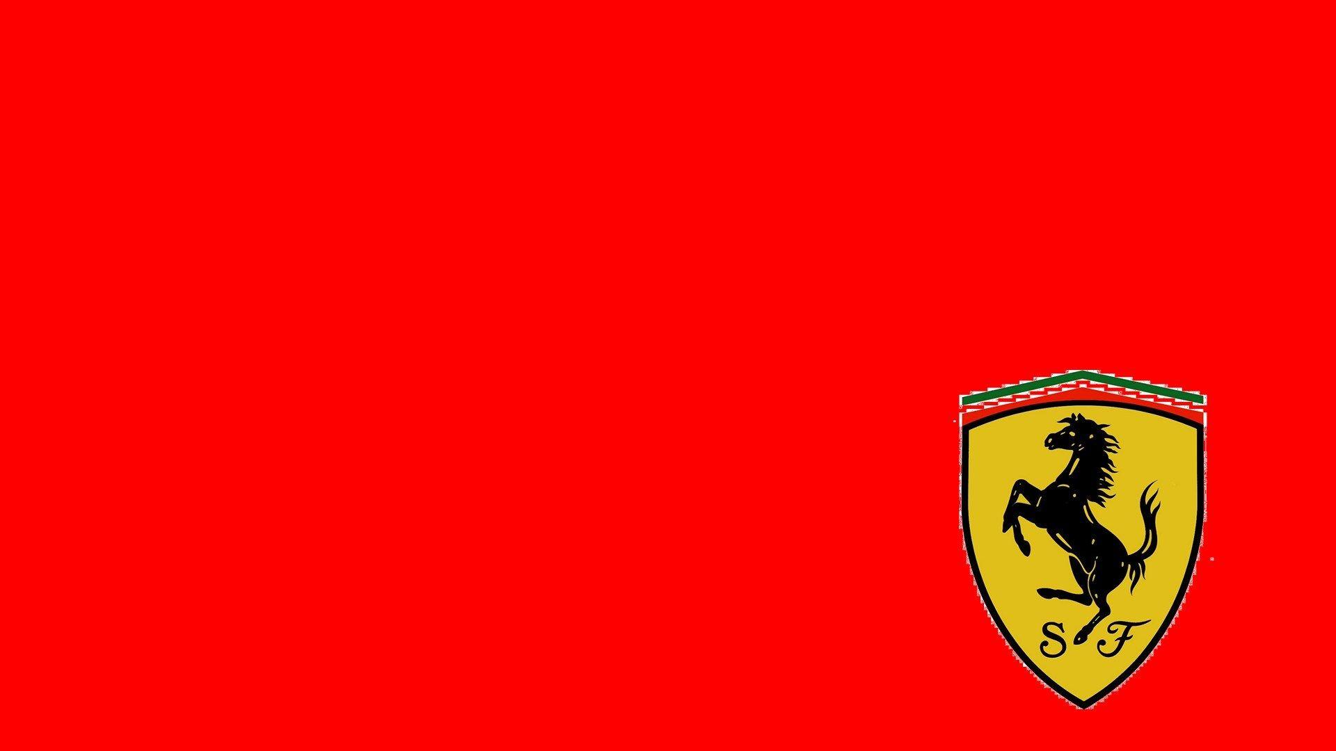 Scuderia Ferrari Logo Red Background 1920x1080 Hd Motorsport Ferrari Logo Ferrari Logos