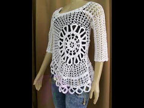 Image result for blusas caladas a crochet patrones | Vídeos crichet ...