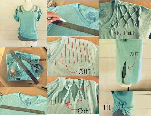 DIY Shirt Ideas for Teens | do it yourself on Tumblr