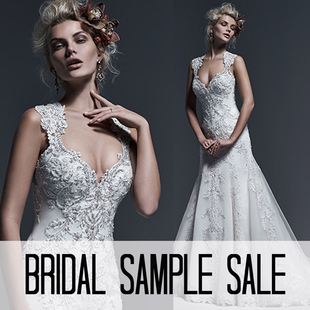 All bridal samples are on sale 25-75% off at Mia Bella right now ...