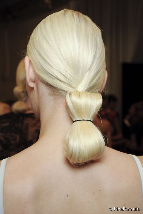Una coda a fiocco. #hairstyle