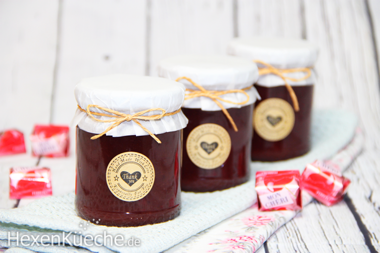 Mon Cheri Marmelade - dieHexenküche.de   Thermomix Rezepte