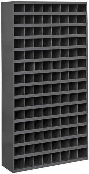 Model 745 95 12 Inch Deep 112 Bin Tall Cabinet Small Parts Storage Nut And Bolt Storage Cold Rolled