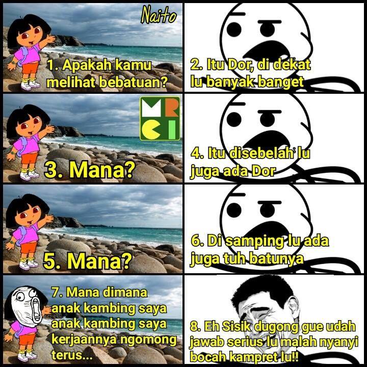 10 Obrolan Dora dengan Cereal Guy ini bikin ketawa sekaligus geregetan