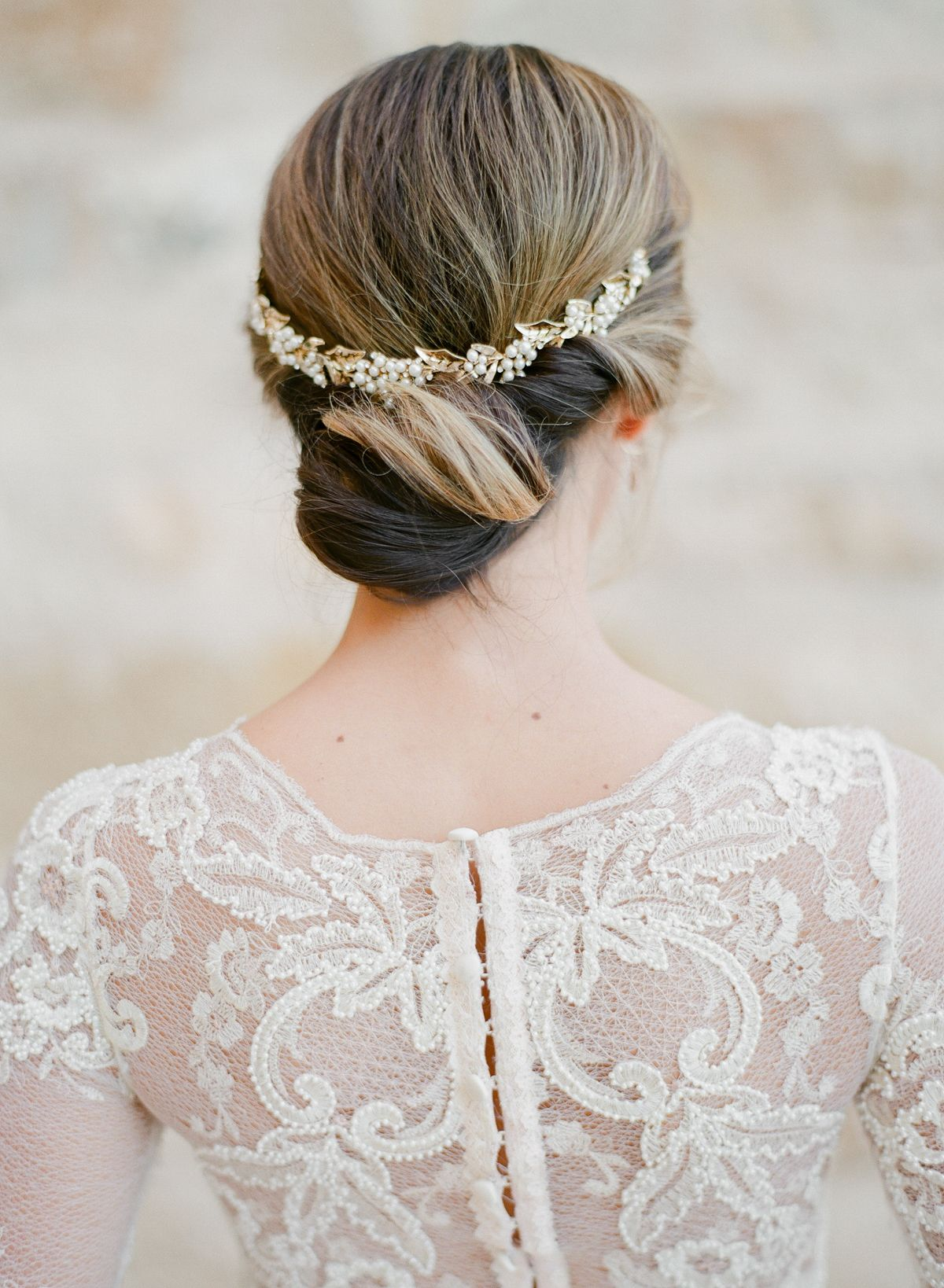 Inspired by Old World Elegance and a Serious Love of Lace | Low buns ...