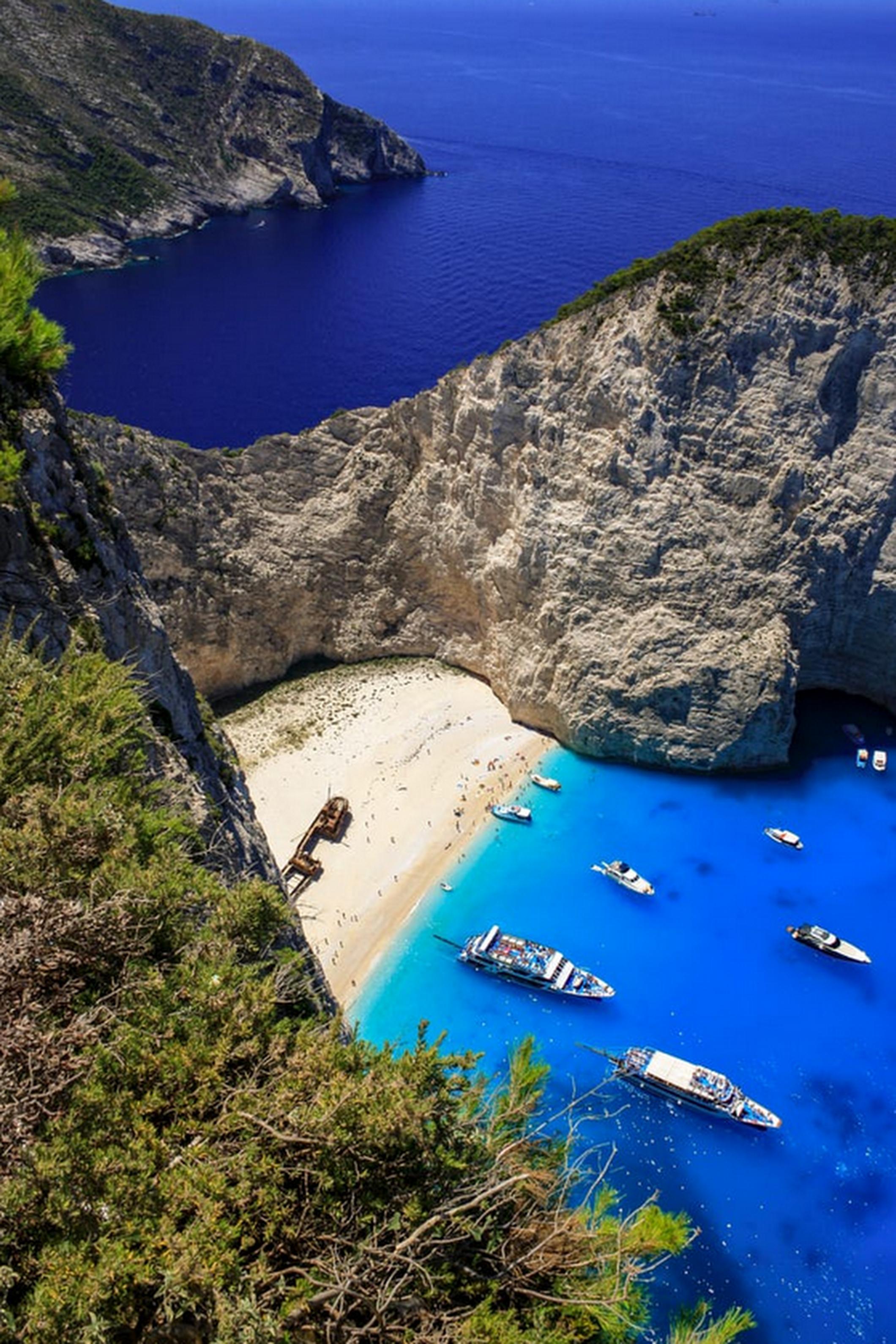 Navagio Beach, Zakynthos Island, Greece Photo By Frederik