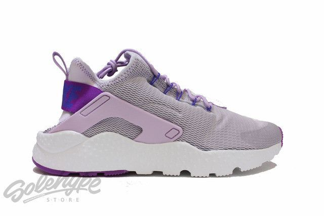 4ba275a09987 NIKE WOMENS HUARACHE RUN ULTRA BLEACHED LILAC HYPER VIOLET PURPLE 819151  501 NIKE Women s Shoes.