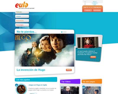 Eula es un sitiocon actividades y contenidos cinematográficos y audiovisuales, originales, relevantes y gratuitos, muy útil a la hora de integrar el cine en los procesos de enseñanza aprendizaje