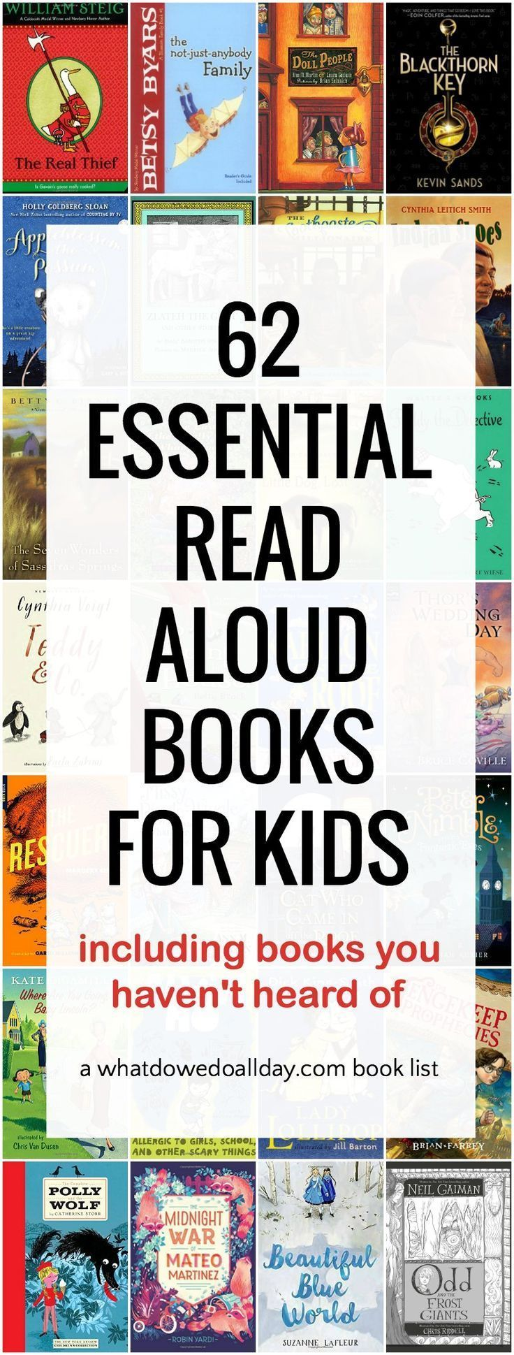 62 Essential Read Aloud Books For Families Read Aloud Books Books Read Aloud