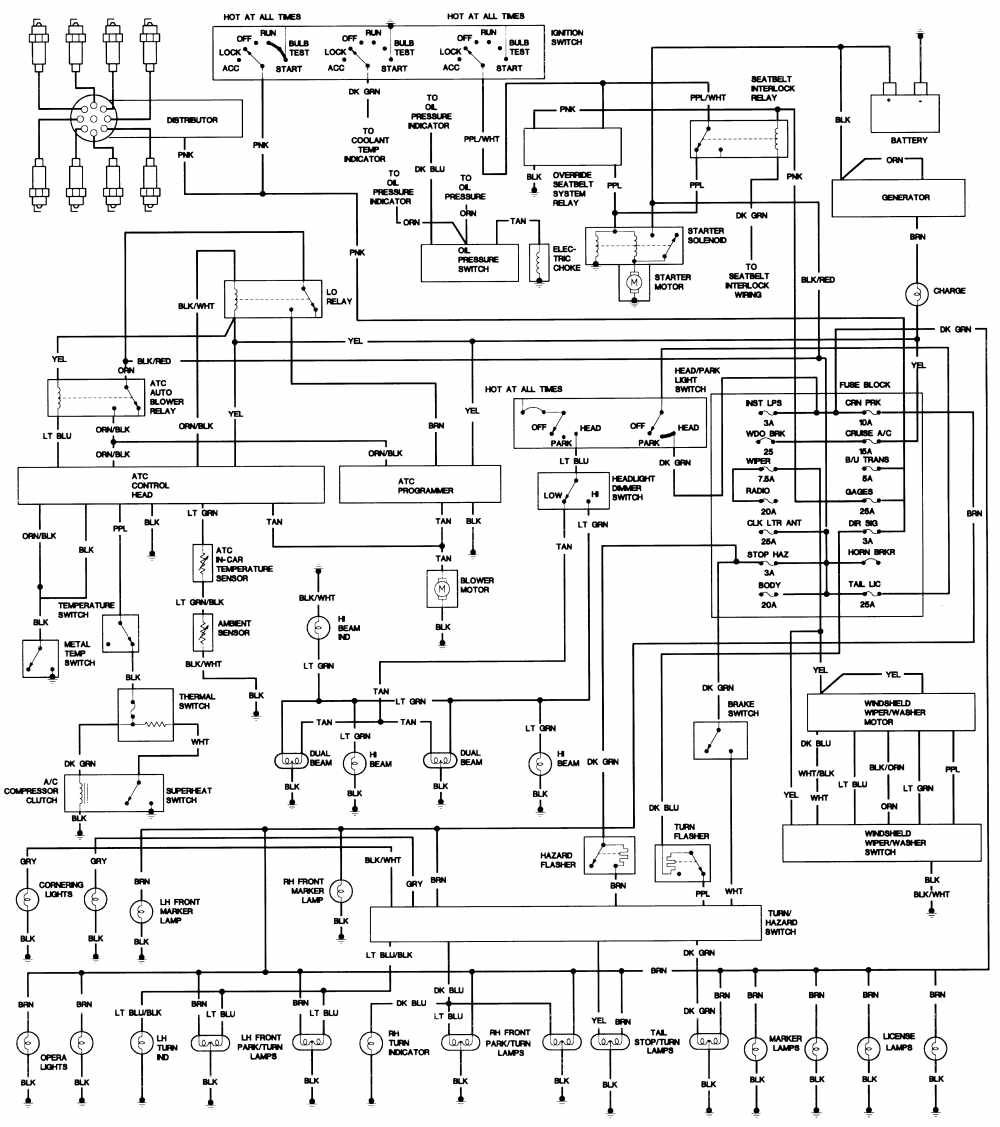 1975 cadillac wiring schematic hoping my mechanic will find this