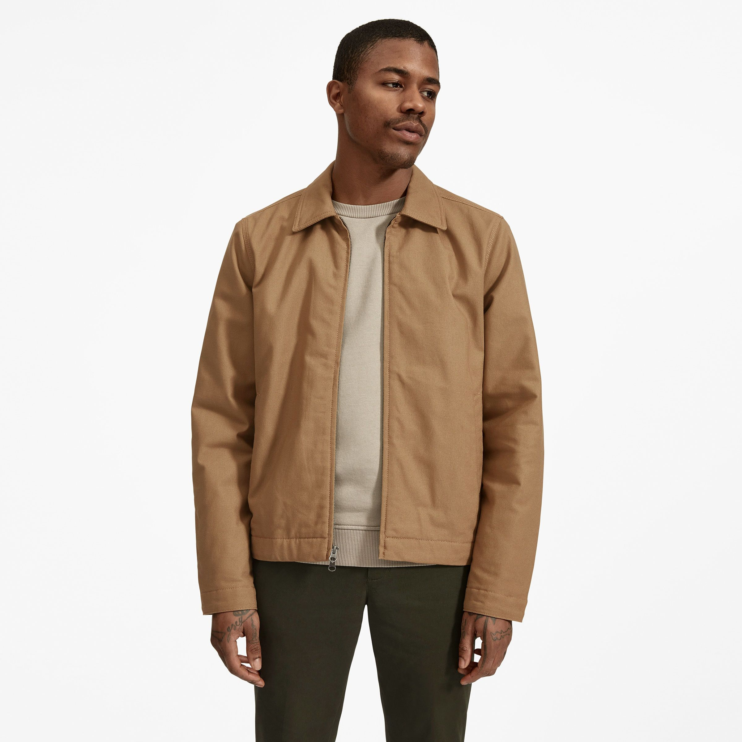 To Create A Jacket With Durable Construction To Match Its Enduring Style We Honed In On Our Materials Selections And Build Canvas Jacket Jackets Mens Jackets [ 2400 x 2400 Pixel ]