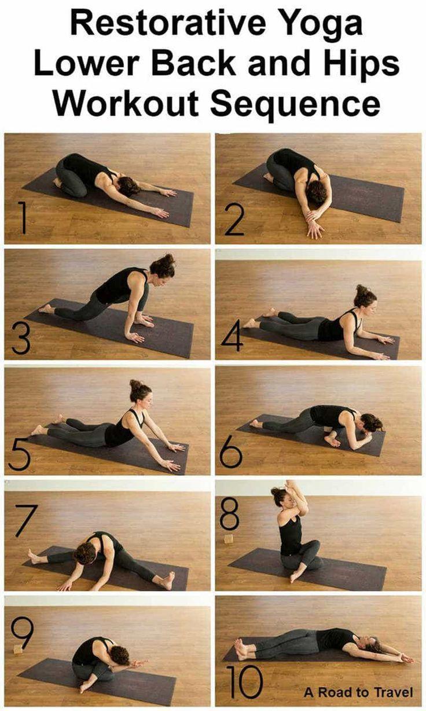 Yin Yoga Restorative Poses