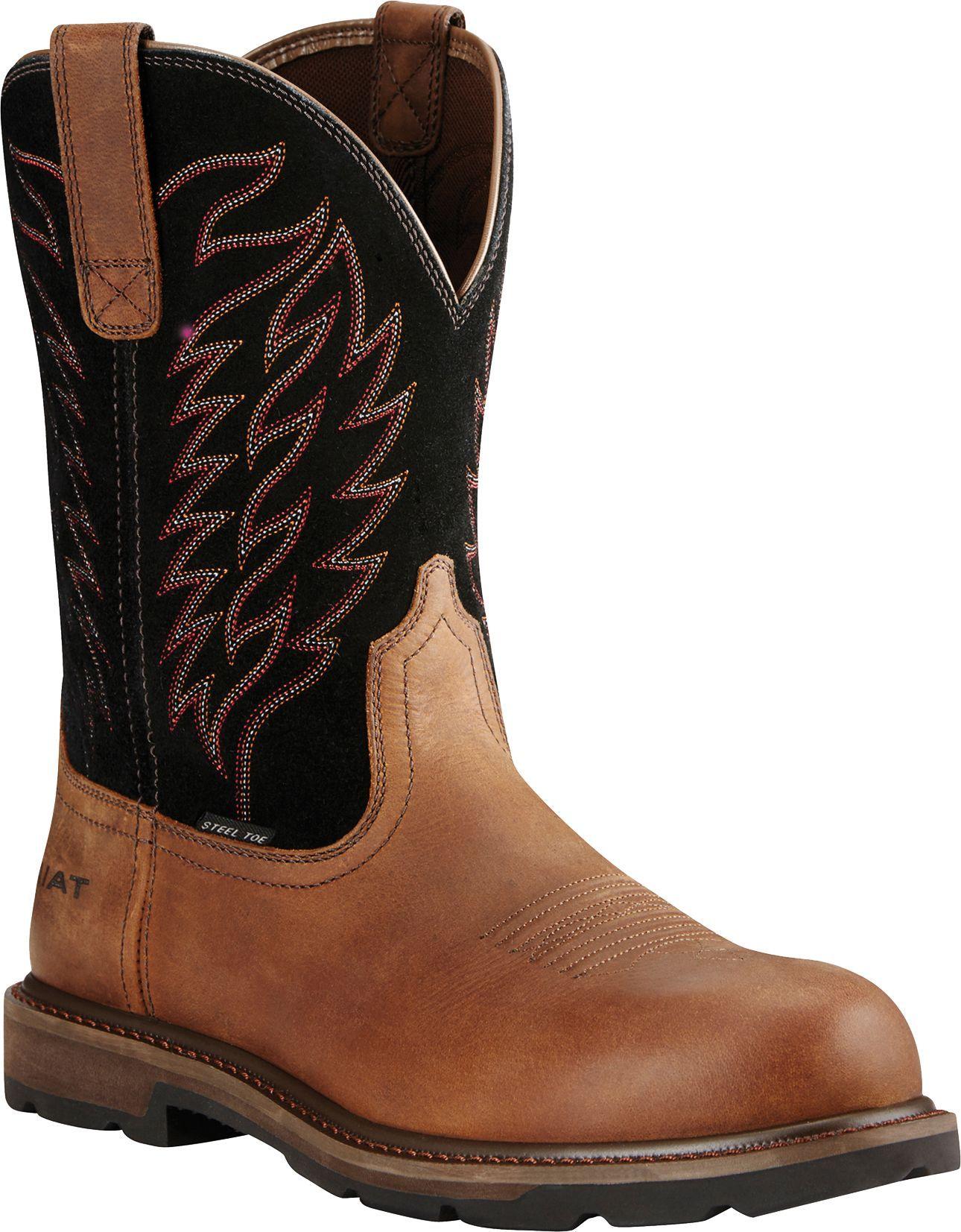Men's WorkHog XT Waterproof Work Boots in Oily Distressed