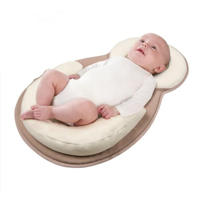 SleepWELL Portable Baby Bed - Creamy-white
