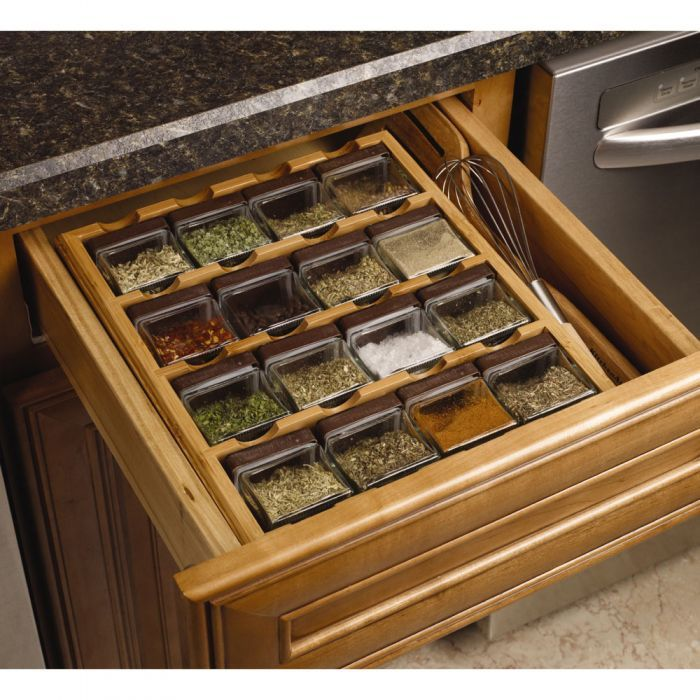16 Cube Inspirations Bamboo Spice Rack Countertop Spice