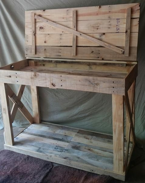 kitchen island with storage s s pallet creations llc on inventive ideas to utilize reclaimed wood pallet projects all you must to know id=47299