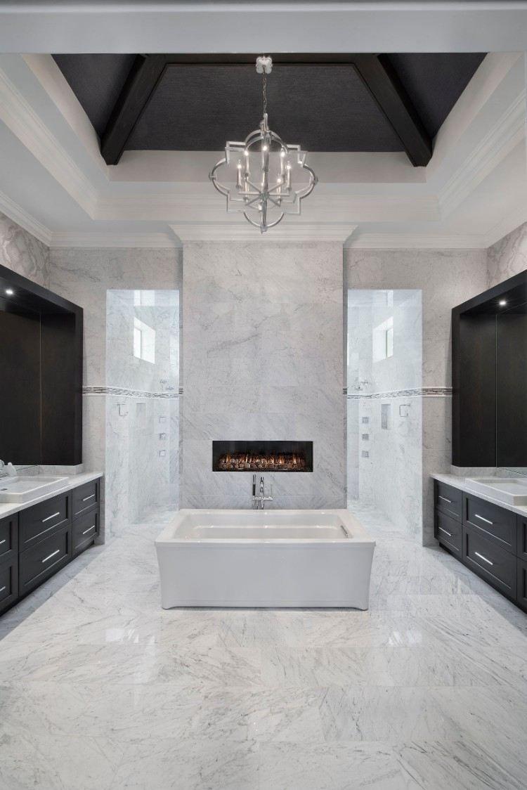 Comment concevoir une salle de bain moderne 50 id es - Concevoir salle de bain ...