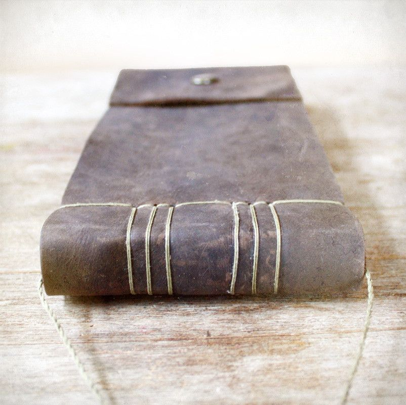 The Ledger. Leather Journal. By Odelae