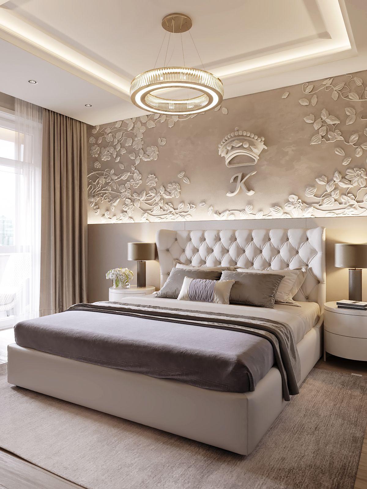 Best Caramel Dreams Apartment In Kiev On Behance Bedroom In 400 x 300