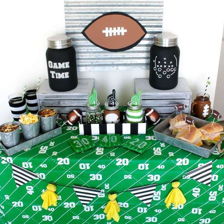 Who is ready for Thursday night football??!! Get your football party off right with tricks and tips from us on @joann_stores, The Creative Spark! #football #thursdaynightfootball #tailgate #party #celebrate #DIY