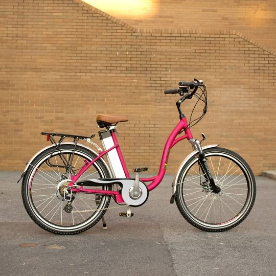 Jet Around Town In Style With This Glam Electric Bicycle From