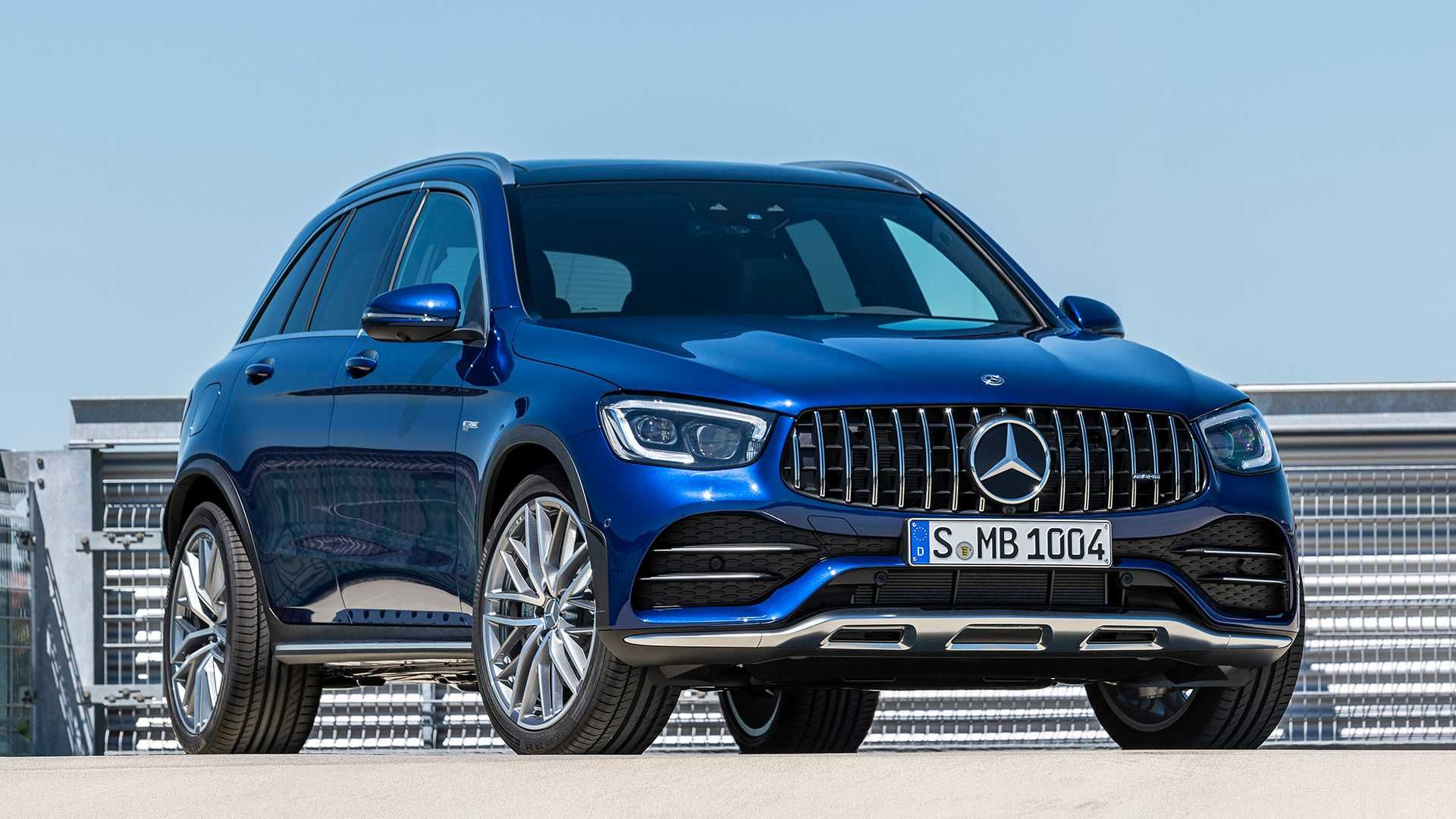 2020 Mercedes Amg Glc 43 Crossover And Coupe Put A New Face On