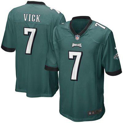 de939793 Nike Michael Vick Philadelphia Eagles Youth Game Jersey - Midnight ...